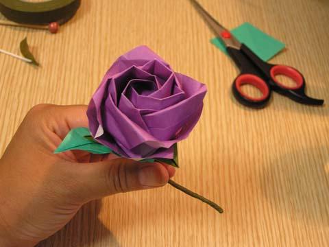 ハート 折り紙:折り紙折り方難しいバラ-chinjuh.mydns.jp