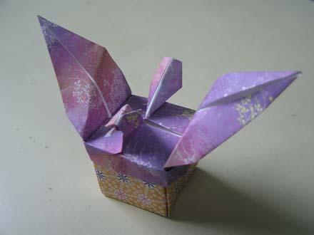 箱本体も、蓋のハトも同じ ... : 箱 作り方 紙 長方形 : すべての講義