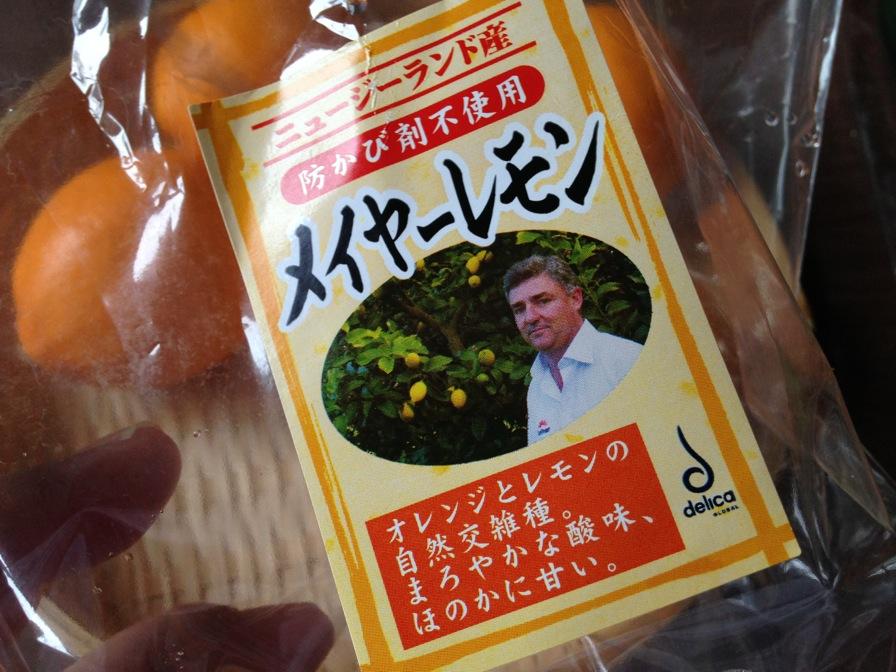 食材 オレンジじゃない、レモン…...